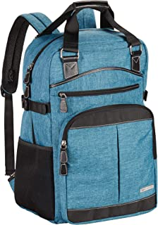 Clark & Mayfield Reed Backpack 17 Turquoise Deep Teal