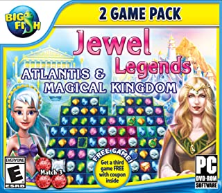 Big Fish: Jewel Legends 2: Atlantis and Magical Kingdom - PC