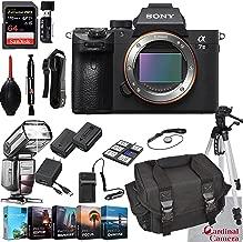 $1998 » Sony Alpha a7 III Mirrorless Digital Camera Body Bundle + Extreme Speed 64GB Memory (24 Items)