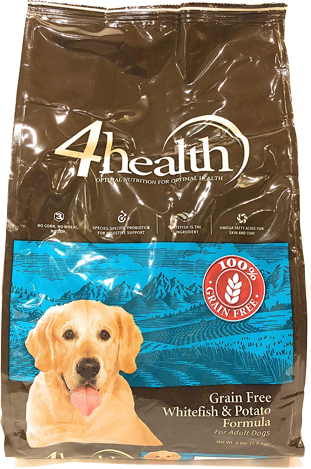 4health Tractor Some reservation Supply Company Grain Adult Food Free Whitef San Antonio Mall Dog