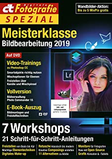 c't Digitale Fotografie Spezial (2/2019) Edition 10: Meisterklasse Bildbearbeitung 2019 (German Edition)