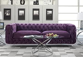 Best green chesterfield sofa velvet Reviews