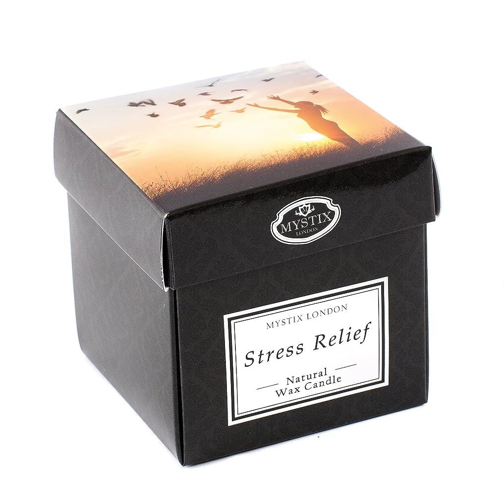 絶滅交渉する退屈なMystix London | Stress Relief Scented Candle - Large
