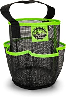 Camco Mesh Shower Caddy Organizer Tote with Pockets and Carry Handle, Dries Quick, Perfect for Dorms, Gym, Camping, The Be...