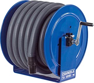 Coxreels V-117H-835 V-117-850 Vacuum Only Direct Crank Rewind Hose Reel, 1-1/2