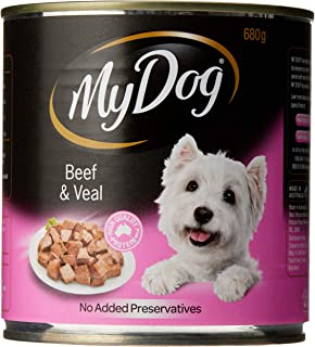 My Dog Prime Beef Veal Dog Food 12 Cans 12 Can Medium