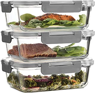 glass container oven