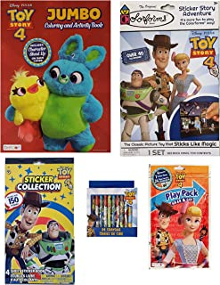 Disney Pixar Toy Story 4 Coloring and Activity Set for Kids  Coloring and Play Activity Book, Play Pack, Sticker Booklet, ...