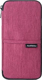 TRIWONDER Travel Passport Wallet, Waterproof Family Passport Holder Document Organizer Bag Purse Travel Pouch (Purple)
