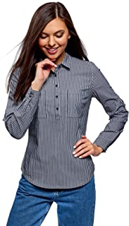 Ultra Women's Striped Shirt with Pockets