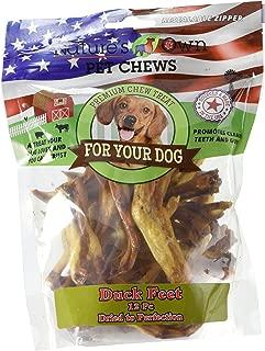 Best Buy Bones 12 Piece Nature'S Own Pet Chews Duck Feet Bag Treat