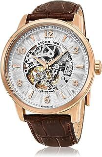 ستوهرلنج ساعة يد للرجال ، كوارتز ، جلد ، 776.03