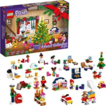 LEGO 41690 Friends Advent Calendar 2021 Mini Builds Set, Christmas Toys for Kids with 5 Micro Dolls, Gift for 6 Year Olds