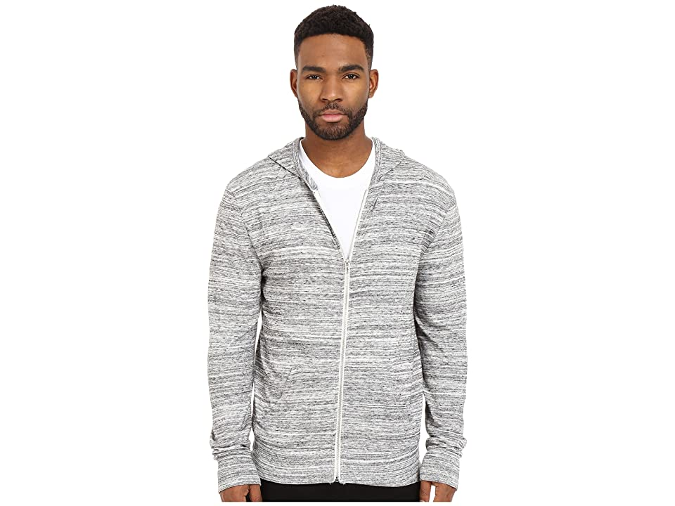 Alternative Eco Zip Hoodie (Urban Grey) Men