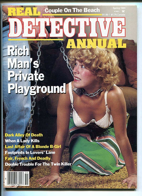 Real Dallas Mall Detective Annual-Spring Gifts 1985-brutal moll-lurid pu cover-gun