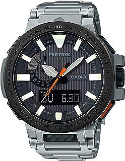 [カシオ] 腕時計 プロトレック MANASLU 世界6局対応電波ソーラー PRX-8000T-7AJF シルバー