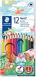 Staedtler Noris Club Colouring Pencils, Multi-Colour, Pack of 12