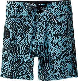 Volcom Kids - Logo Plasm Mod Boardshorts (Toddler/Little Kids)