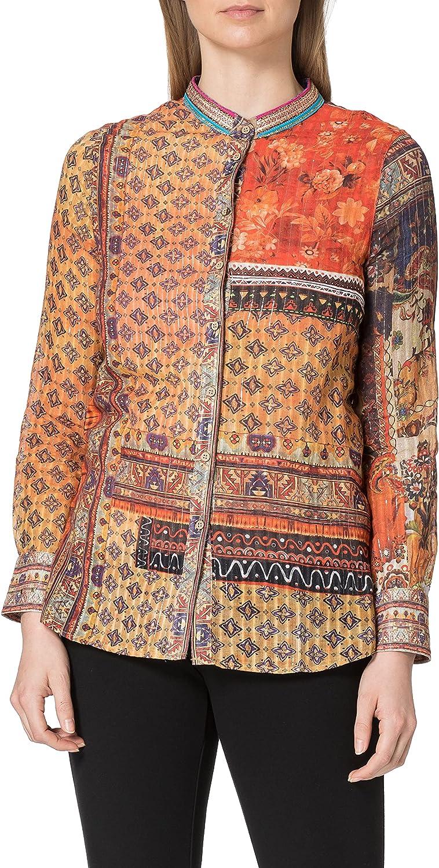 Desigual Women's Woman Woven Shirt Long Sleeve