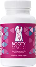 Booty Magic Ultra Butt Enhancement Pills – 2 Month Supply