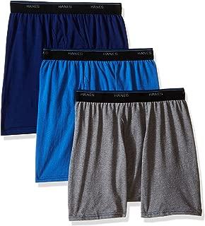 Hanes Men's 3-Pack FreshIQ ComfortBlend Dyed Boxer Brief