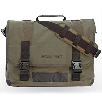 "Mobile Edge MECME9 Bag for Laptop, Eco Friendly Canvas, 17.3"""
