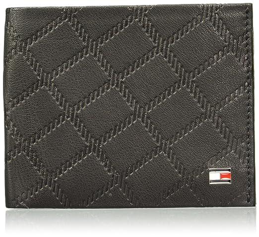Tommy Hilfiger Black Leather Men's Wallet  8903496110678