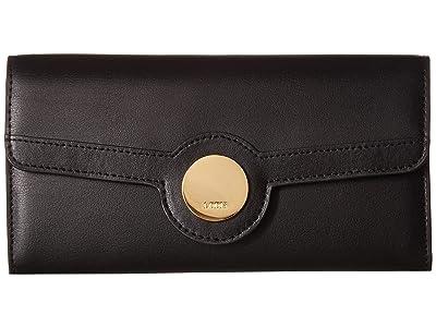 Lodis Accessories Rodeo RFID Luna Clutch Wallet (Black) Wallet Handbags