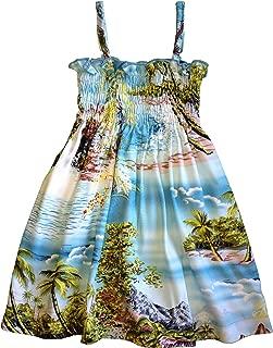 RJC Baby Girls Paradise Island Surf Elastic Tube Top Sundress