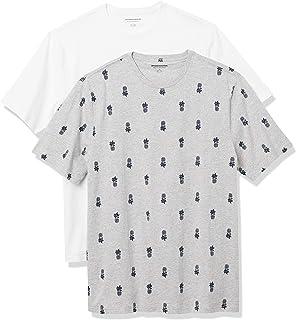 Men's 2-Pack Loose Fit Short-Sleeve Crewneck T-shirt