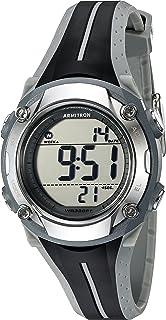Armitron Sport Women's 45/7063GRY Digital Chronograph Black and Grey Resin Strap Watch