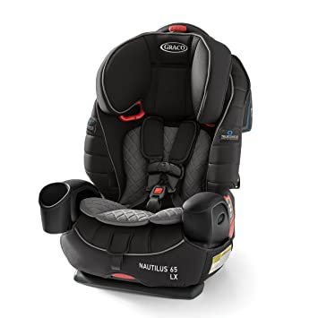 Graco Nautilus 65 LX 3 in 1 Harness Booster Car Seat, Featuring TrueShield Side Impact Technology: image