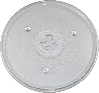 HQRP 10-1/2 inch Glass Turntable Tray Works with Hamilton Beach EM925AJW-P1 EM925AJW-P2 0.9 Cu. Ft. 900W Microwave Oven Cooking Plate 270mm