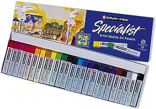 Sakura ESP12 12-Piece Cray-Pas Specialist Assorted Colors Oil Pastel Set, Assorted, 25 Color Set