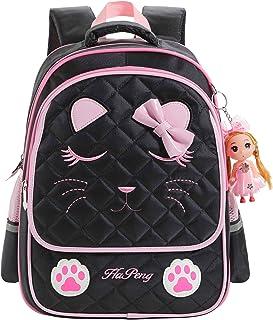 Ali Victory Waterproof Princess School Backpacks for Girls Cute Kids Book Bag Travel Daypack