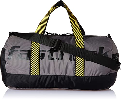 Fastrack Polyester 21.6 cms Grey Travel Duffle (A0722NGY01)