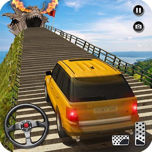 Drachen Straße Auto Fahren Simulator 2018: Kreuzer Auto Stunt Spiele Frei für Kinder