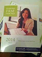 FRM 2014 Part 2 Schweser Study Notes Book 1-4 + Practice Exams + Quick Sheet