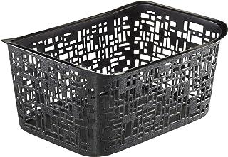 SUNDIS 1674002 Panier, Plastique, Noir, 5L