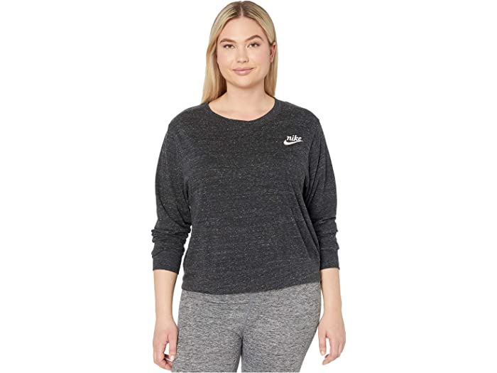 ganancia tubo Noroeste  Nike Plus Size NSW Gym Vintage Crew | 6pm