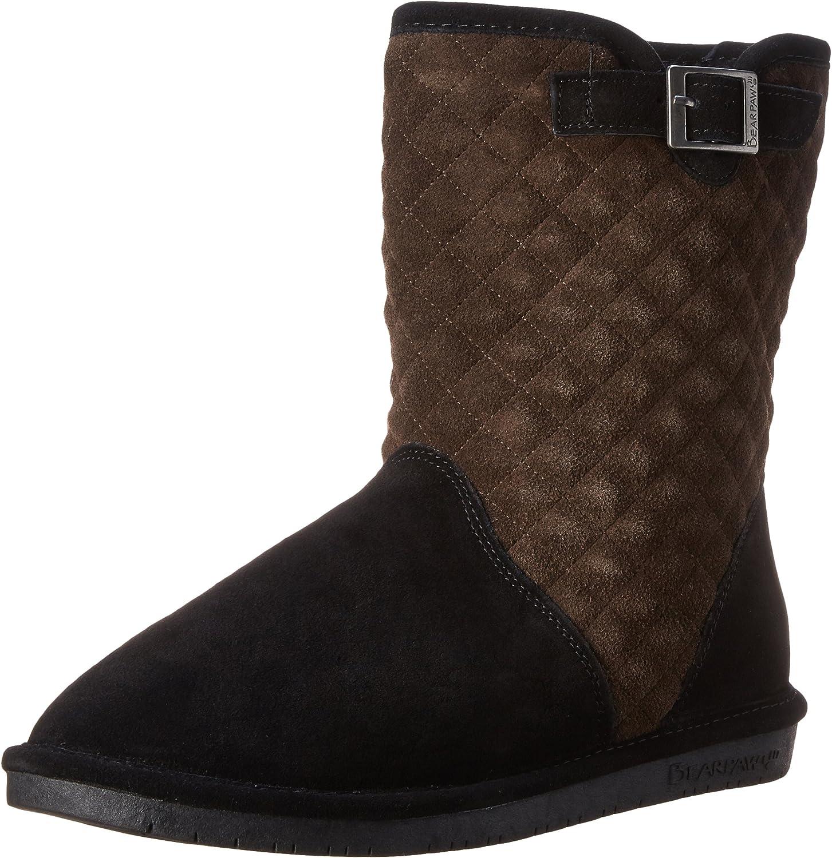 Bearpaw Women's Leigh Anne Snow Boot,Black Chocolate,12 M US
