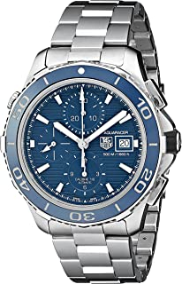 TAG Heuer Men's CAK2112.BA0833 Analog Display Swiss Automatic Silver Watch