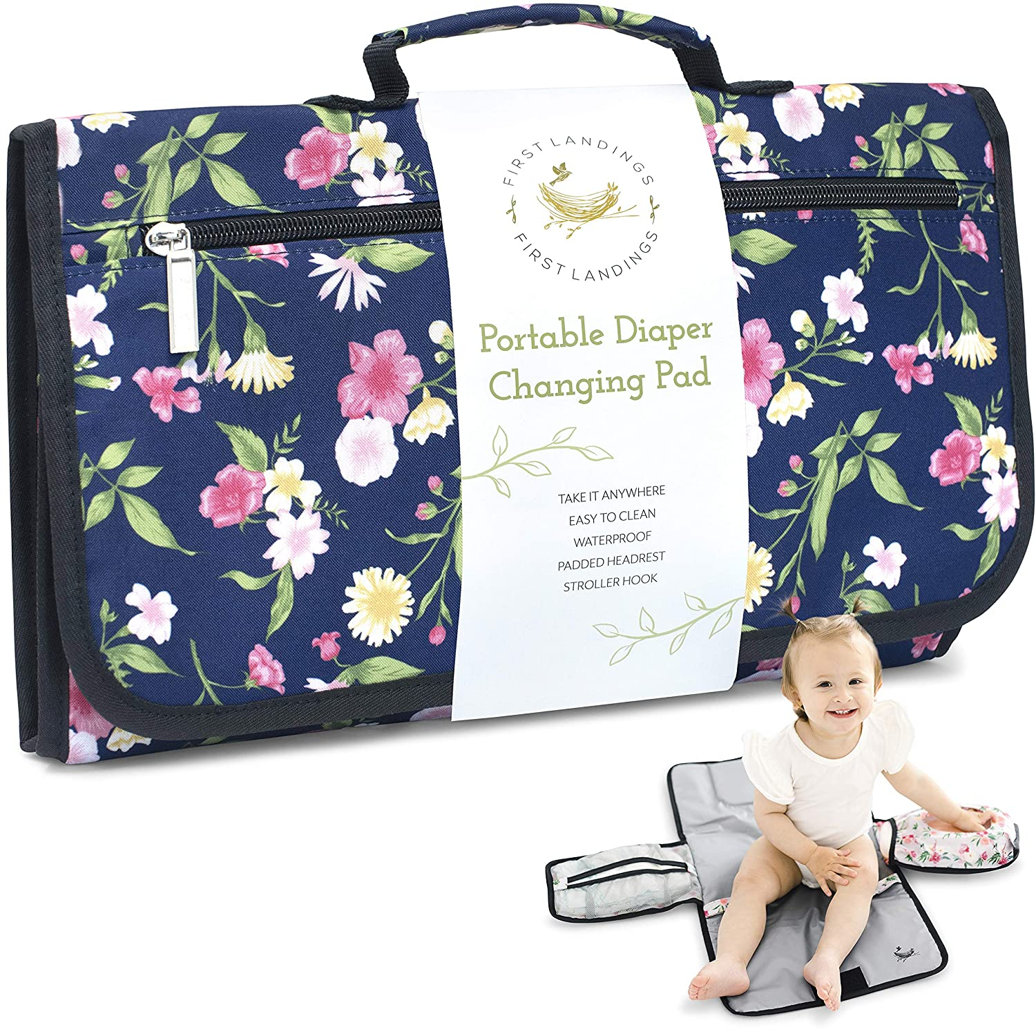 Portable Diaper 1 year Our shop most popular warranty Changing Pad Convenient Travel Baby The On Go