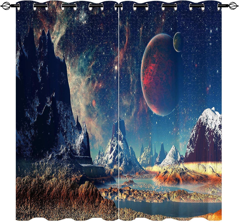 新品未使用正規品 ANHOPE Blackout Room Darkening Curtains Wide 特価キャンペーン Inch 36 by 84
