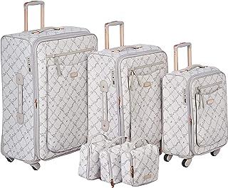 Sonada Luggage Trolley Bags Set 3 pcs 66-9764516-light white