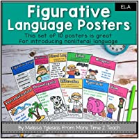 Figurative Language Posters {10 colorful + kid-friendly posters}