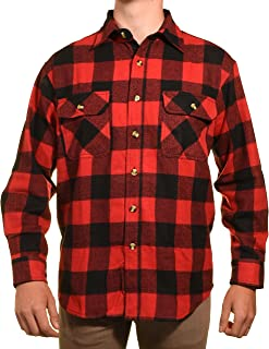 Guides Choice Pro Elite Mens Heavy Duty Flannel Shirt