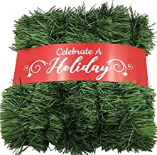 Best staircase garland christmas Reviews