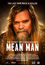 Mean Man: The Story of Chris Holmes on Blu-ray, DVD and Digital Jan. 15 from Cleopatra and MVD