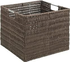 Whitmor Rattique Storage Crate - Java